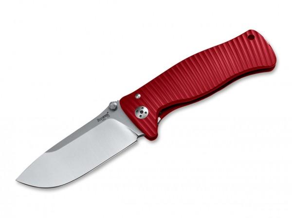 Taschenmesser, Rot, Framelock, D2, Aluminium