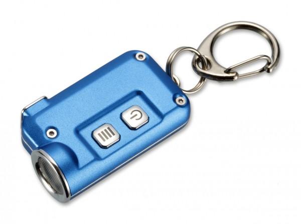 Taschenlampe, Blau