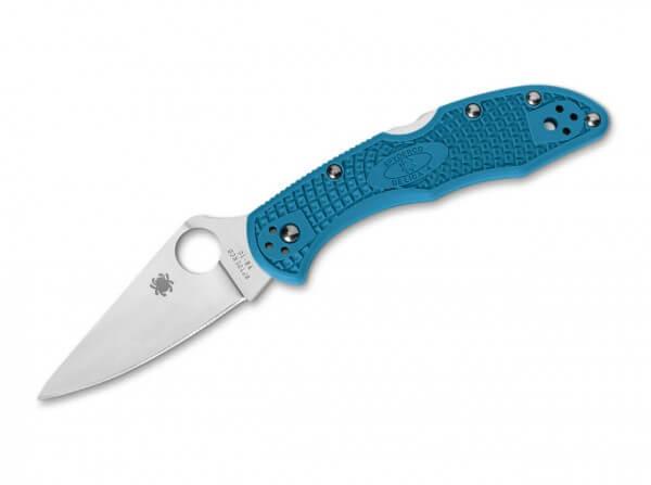 Taschenmesser, Blau, Daumenöffnung, Backlock, VG-10, FRN