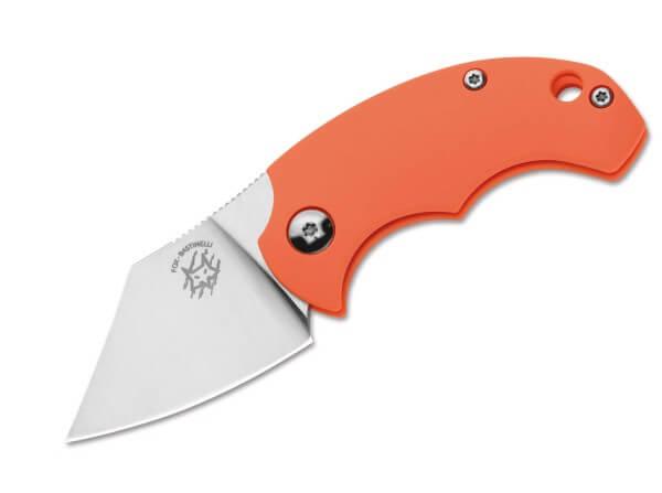 Taschenmesser, Orange, Klingensporn, Friction Folder, N690, FRN