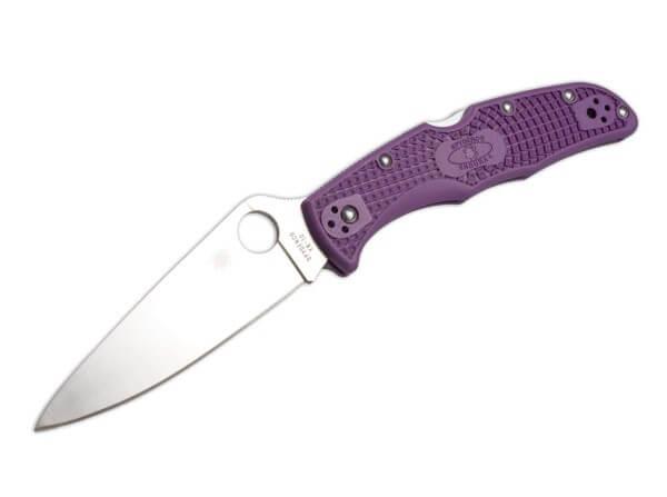 Taschenmesser, Violett, Daumenöffnung, Backlock, VG-10, FRN