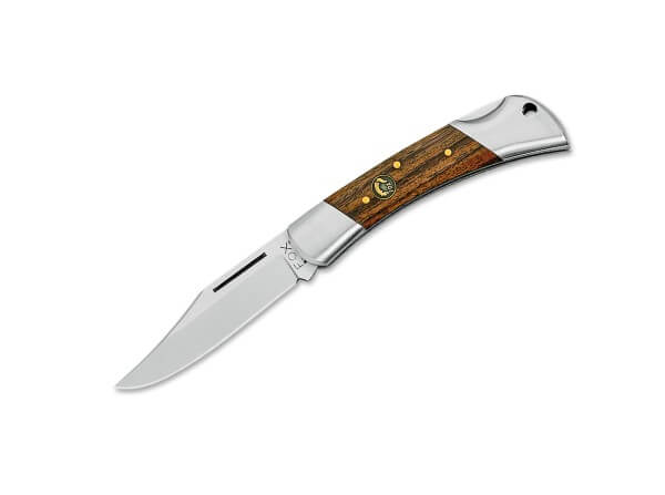 Taschenmesser, Braun, Nagelhau, Backlock, 12C27, Palisanderholz