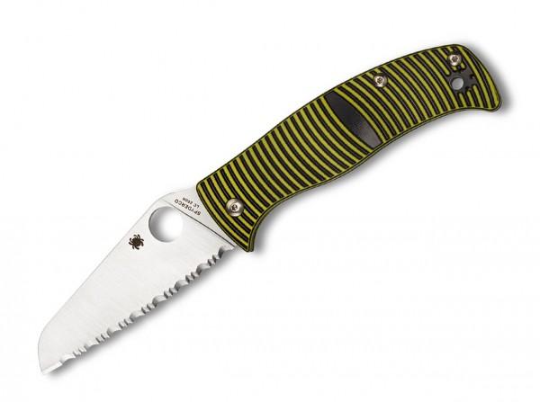 Taschenmesser, Gelb, Daumenöffnung, Compression Lock, LC200-N, G10