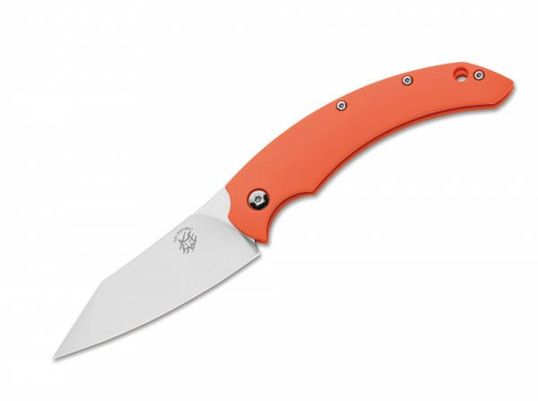 Taschenmesser, Orange, Klingensporn, Friction Folder, N690, FRN