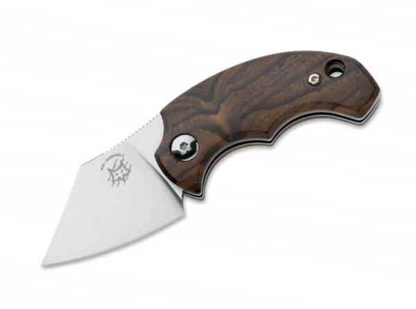Taschenmesser, Braun, Klingensporn, Friction Folder, N690, Zirikoteholz